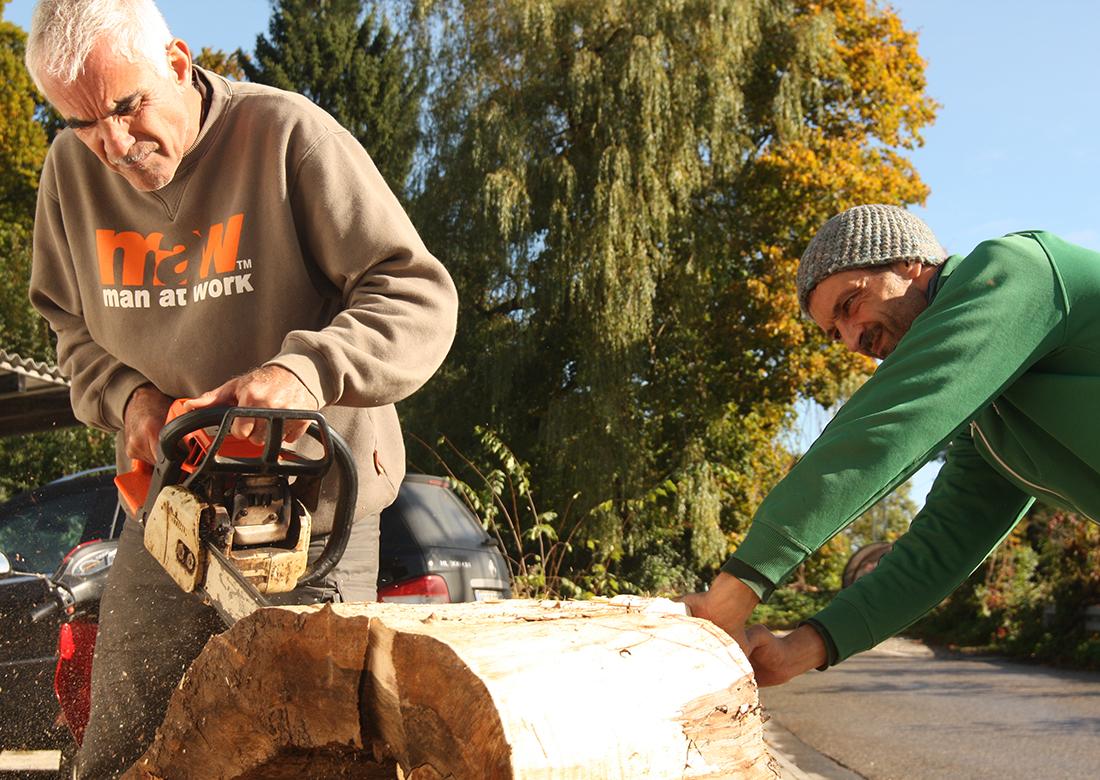 Tisch selber bauen | Kunststück Workshop Schreinerei München