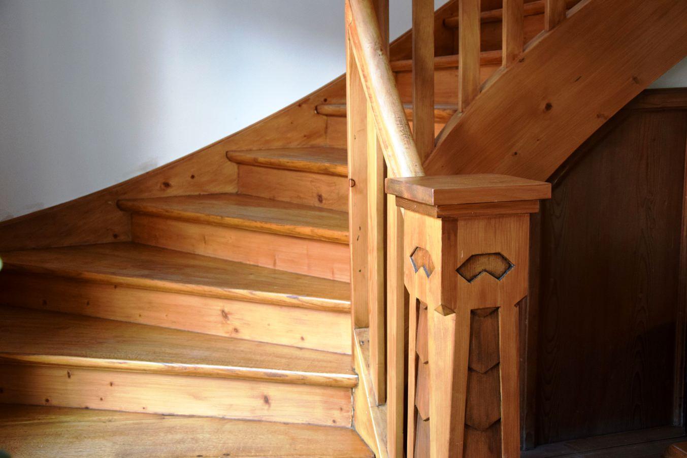 Holztreppe saniert | Kunststück Schreinerei München